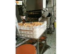 上面包屑机上粉机上糠机 与油炸机配套生产