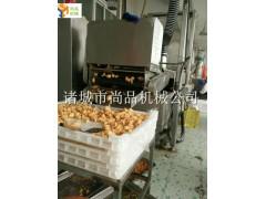 鸡排上浆上粉机 鸡排油炸流水线 全自动裹粉裹浆生产线 尚品