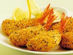 全自动鳕鱼排上面包糠机价格优惠 裹粉虾自动上粉机 油炸机