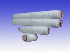 优质水处理耗材30寸聚丙烯折叠滤芯5U精密过滤器净水器滤芯