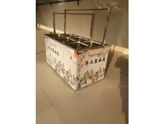 鲁嘉直销 酒店手工豆油皮机 不锈钢材质 豆制品加工设备