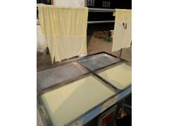 全自动不锈钢豆腐机 生产豆腐设备 手工豆油皮机器免费培训