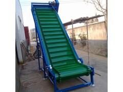 硫化裙边格挡皮带输送机 爬坡食品皮带运输机供应