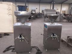 气动定量灌肠机  灌香肠定量灌肠机 火腿肠加工设备