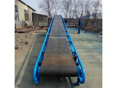 水泥装车皮带输送机 水平输送机 倾斜爬坡皮带输送机