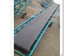 固定式皮带输送机 快递分拣输送机 爬坡输送机