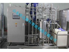 巴氏奶生产线设备流程
