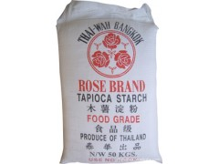 现货 泰国玫瑰牌 25KG装 原装进口木薯淀粉 木薯生粉