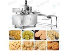 全自动杏仁饼机 炒米饼机 夹心桂花糕机 绿豆粉饼机