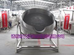 猪脚炖煮锅,自动保温型夹层锅,高温肉食煮锅