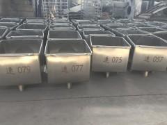 200L肉斗车  不锈钢料斗车   得利斯厂家供应肉斗车