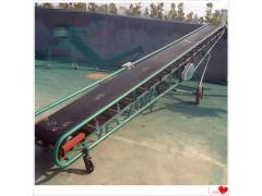 倾斜爬坡坡口输送机 稻谷装卸皮带输送机 装车输送机