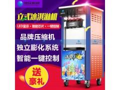 硬质冰淇淋机 软冰淇淋机 新款冰淇淋机 双色冰淇淋机