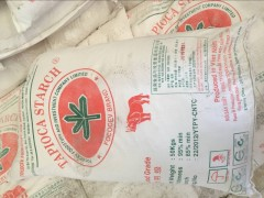 现货 越南红五叶犀牛牌 原装进口木薯淀粉 木薯生粉