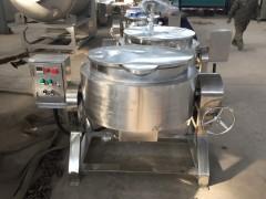 蒸汽可倾夹层锅  电加热夹层锅  搅拌夹层锅