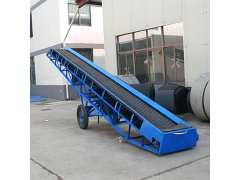 集装箱皮带输送机 稻谷装卸皮带输送机 水平输送皮带机