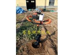 四冲程挖坑机 汽油机挖坑机