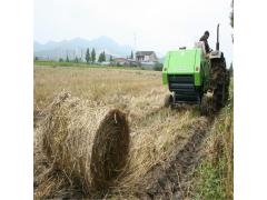 牧草圆捆草捆机 全自动捡拾进料圆捆机用途广泛