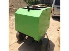 小型牵引式秸秆打捆机 牧草圆捆机操作视频