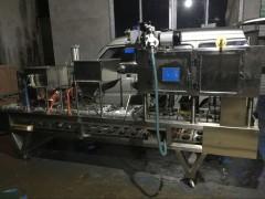 伊佳诺全自动自热米饭灌米灌水抽真空封口机 自热米饭包装机