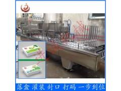定制盒装嫩内酯豆腐灌装封口机血豆腐灌装机全自动包装机械设备