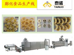 膨化食品麦圈生产设备最新行情