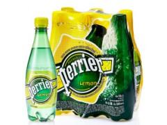 法国进口巴黎水、巴黎水含气柠檬味、500ml*6(塑料瓶)