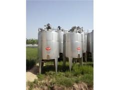 乳品厂不锈钢搅拌罐不锈钢老化罐不锈钢糖化罐处理