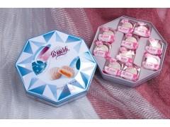 冰皮月饼 月饼厂家 金丽沙八角罐冰皮月饼 广式月饼批发团购