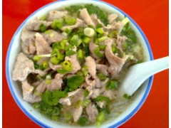 学习汤粉王小吃技术猪杂饭