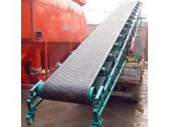 袋装面粉输送机 移动式防滑输送机 大型矿石输送机