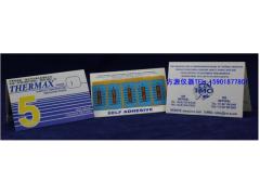 5格I型温度试纸 英国TMC温度美 热敏试纸五格I型 测温纸