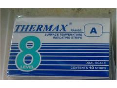 8格A型热敏试纸 英国THERMAX温度美37-99℃测温纸