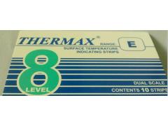 8格E型热敏试纸英国THERM温度美204-399℃测温纸E