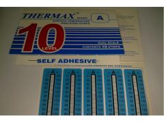 10格A型热敏试纸 英国THERMAX温度美 不可逆温度试纸