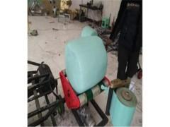 鲜草青贮打捆包膜机价格 青贮饲料打捆包膜机生产厂家