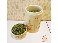 精细竹筒机雕梅兰竹菊富硒贡芽绿茶90克专用茶叶罐