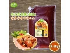 韩式炸鸡酱(甜味)韩餐酱料调料可定制研发代工 2.5kg*6