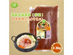 部队火锅酱料韩餐酱料汤料厂家批发可定制研发代工2.5Kg*6