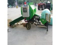 牧草青贮包膜机厂家直销 新款打捆包膜机型号