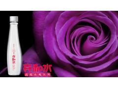 高端玫瑰水加盟 375ml瓶装玫瑰饮料卉和水批发供应