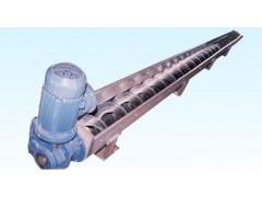 倾斜滤渣物用无轴输送机,叶片式旋料绞龙