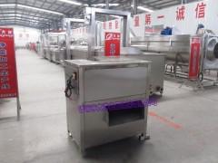 QY型淡水鱼切片机 连续式鲜鱼切片机