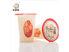 特产米婆婆290g甜米酒早餐健康饮品 杯装酒酿汁厂家直发