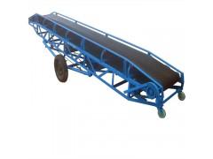 加工定做移动式输送机 固定高度输送机 袋装化肥输送机