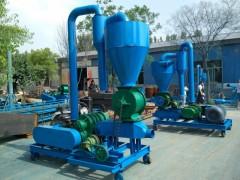 散料干粉输送机 垂直高扬程输送机 粉煤灰输送机
