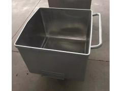 优质不锈钢料斗车,得利斯牌304食品专用料斗车畅销