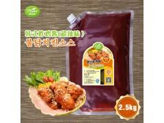 韩式炸鸡酱(超辣)圃绿纳韩餐酱料韩式调料定制 2.5kg*6