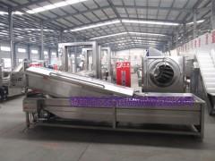 GQX型高压喷淋清洗机 连续式生菜清洗机