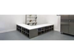 食品厂药厂GMP无尘车间专用 304不锈钢隔离柜 定制鞋柜